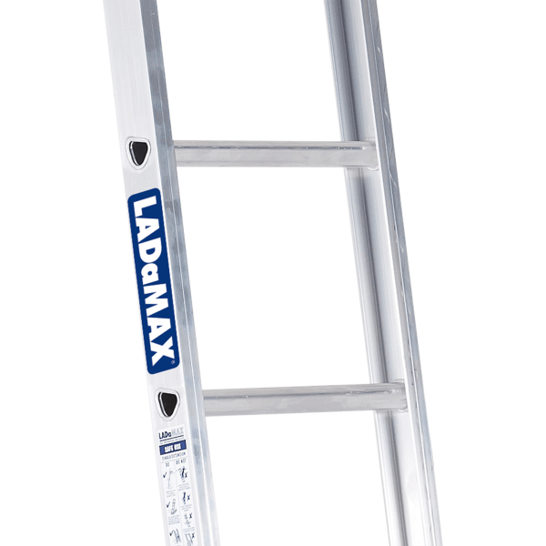 ALUMINIUM SINGLE SCAFFOLD LADDER - SwageLock