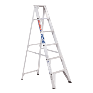 ALUMINIUM SINGLE SIDED STEP LADDER