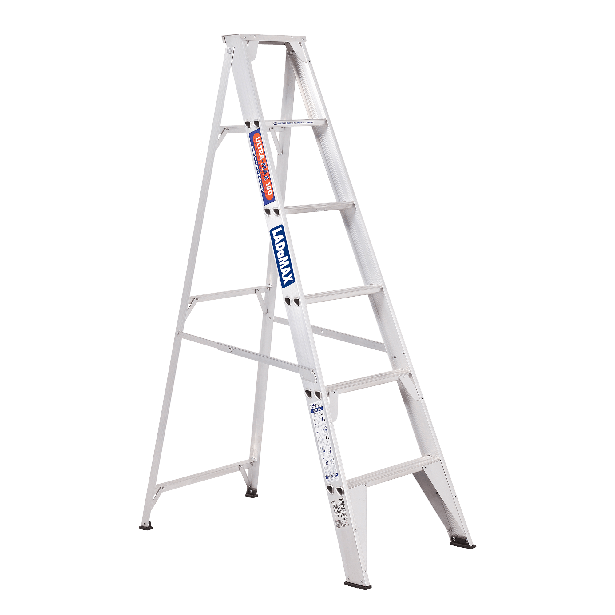 Aluminium Single Sided Step Ladder Ladamax