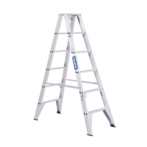 Ladamax Aluminium Double Sided Step Ladder