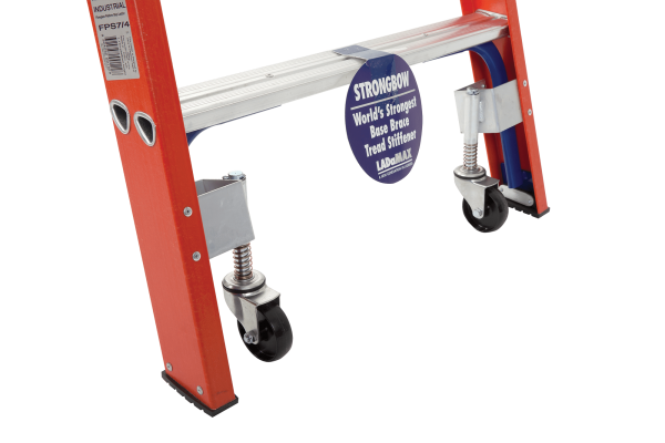 FIBREGLASS MOBILE ORDER PICKER WAREHOUSE RANGE - Castors