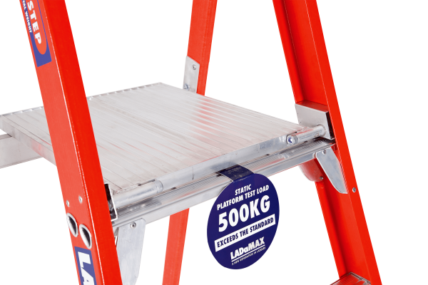FIBREGLASS MOBILE ORDER PICKER WAREHOUSE RANGE - Platform