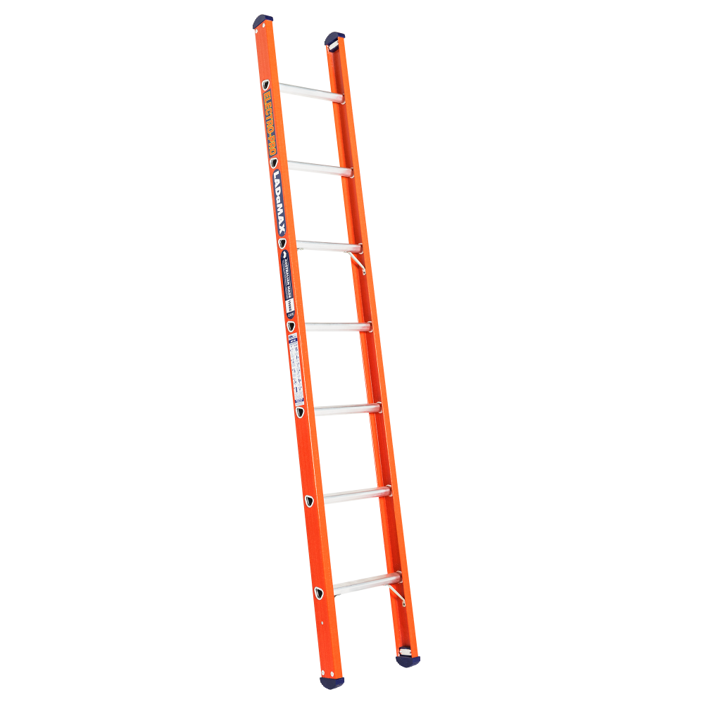 Fibreglass Single Scaffold Ladder