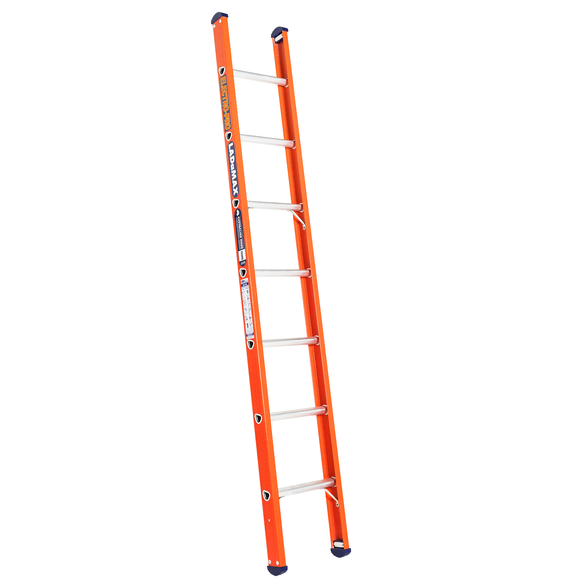 FIBREGLASS SINGLE SCAFFOLD LADDER - Ladamax