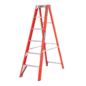 FIBREGLASS SINGLE SIDED STEP LADDER