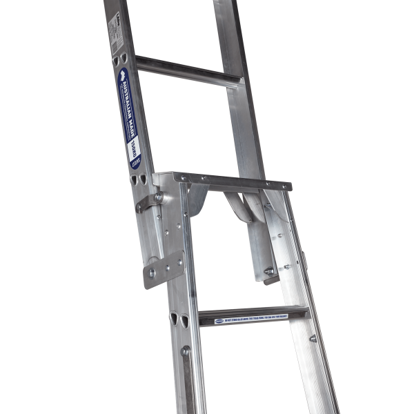 ALUMINIUM DUAL PURPOSE STEP & STRAIGHT EXTENDED - Connection