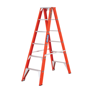 Ladamax Fibreglass Double Sided Step Ladder